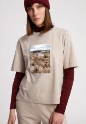 T-Shirt Armedangels Layaa Fields Light Desert