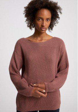 Strickpullover Armedangels Raachela Earthcolors® Natural Dusty Rose