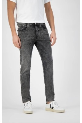 Herren-Jeans Mud Jeans Slimmer Rick Heavy Stone Black