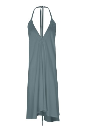 Kleid Suite 13 Multiposition Short Tencel Dress Blue Spruce