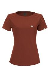 Damen Raglan T-Shirt ZRCL Kitumba Rost