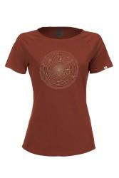 Damen Raglan T-Shirt ZRCL Tree Ring Rost