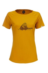 Damen Raglan T-Shirt ZRCL Mole Amber