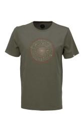 Herren-T-Shirt ZRCL Tree Ring Olive