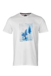 Herren-T-Shirt ZRCL Snowtree White