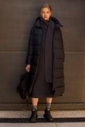 Mantel Ecoalf Lenox Black