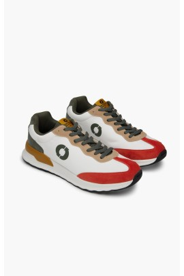 Prince Sneakers Ecoalf Burned Orange - vegan