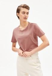 T-Shirt Armedangels Maraa Earthcolors® Natural Dusty Rose