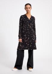 Kleid Armedangels Ceylonaa Wild Blossom Black