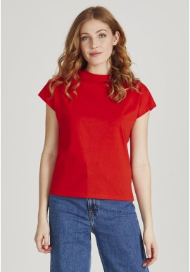 T-Shirt Givn Berlin Laila Lava Red