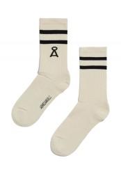 Socken Armedangels Saamu Stripes Raw-Black