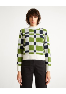 Strickpullover Thinking Mu Gravity Ops Knitted Sweater