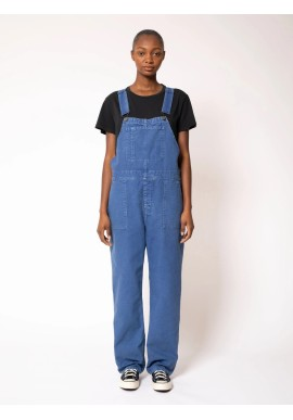 Latzhose Nudie Jeans Karin Dungarees French Blue