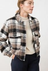 Jacke Jungle Folk Greta Alpaca Jacket Checkered