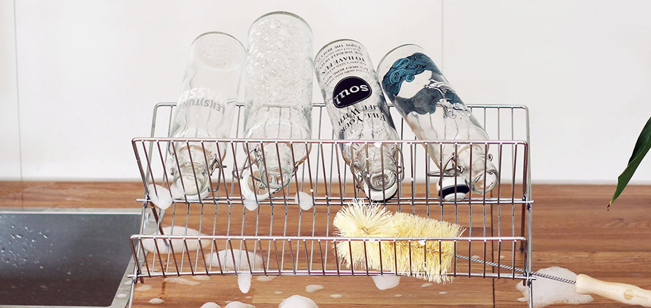 Soulbottles - die Produktion der Glasflaschen ist CO2-neutral. In der Schweiz online kaufen.