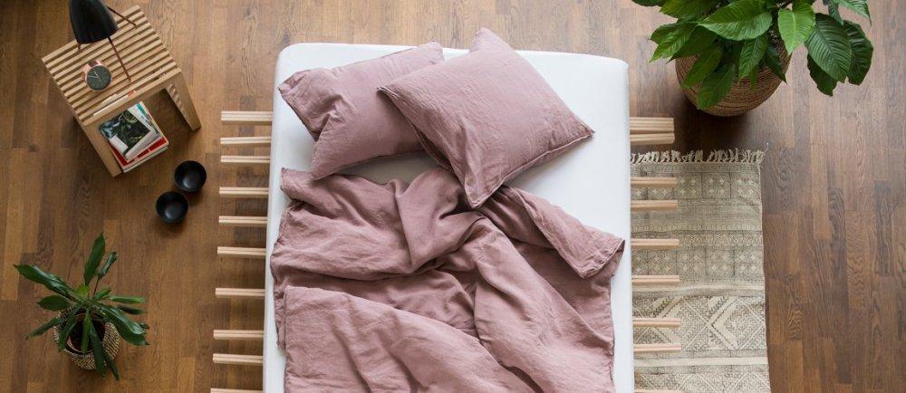 Leinen-Bettwäsche des Schweizer Labels #lavie. Fair produziert in Portugal. Hier online kaufen in der Schweiz oder in unserem Laden in Zürich.