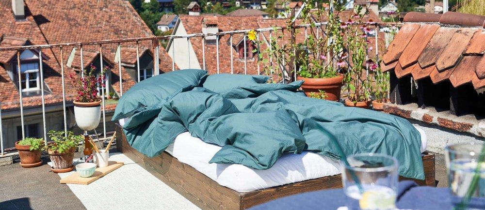 Fair & nachhaltig produzierte Bettwäsche aus Langenthal. In der Schweiz lokal online kaufen.